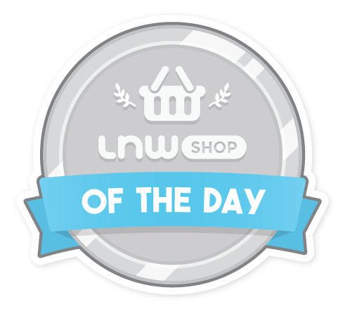 lnwshop of the day badge